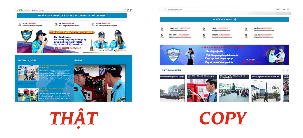 công ty bao ve chuyen nghiep tai Ho Chi Minh
