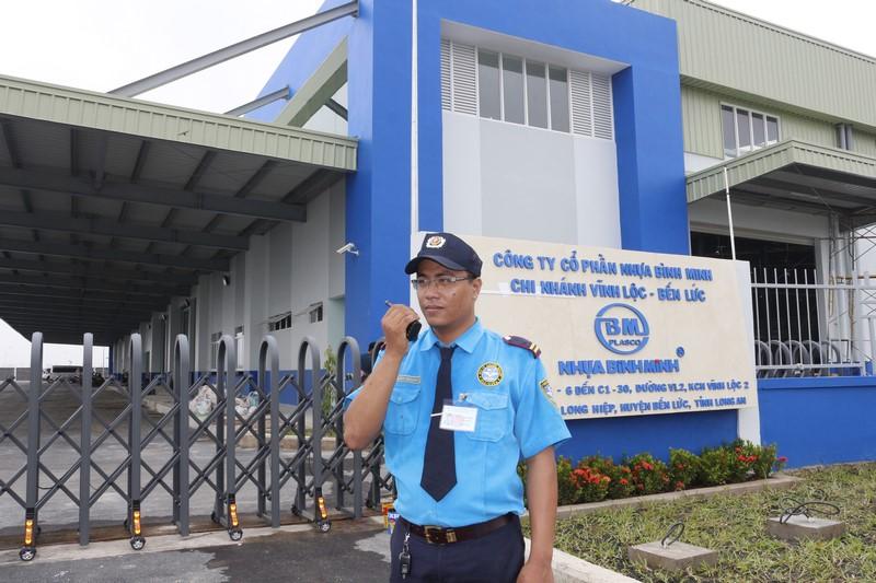 bảo vệ chuyên nghiệp tại HCM
