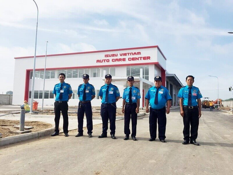 Night & Day Security provides the security guard services for isuzu Vietnam