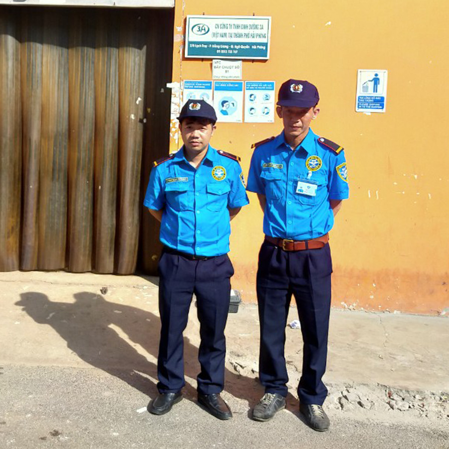 Night & Day Security Guards at Abbott Hai Phong