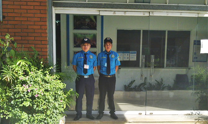 Night & Day Security Guards at Abbott Nghe An