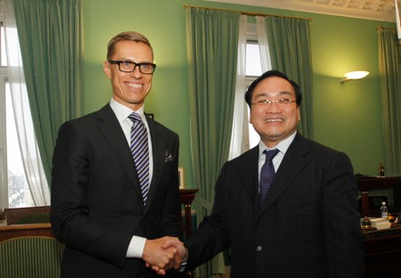 VN, Finland enhance cooperation in trade, investment